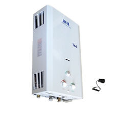 NEW AQUAH 16L 4.23 GPM NATURAL GAS NG TANKLESS WATER HEATER WHOLE HOUSE