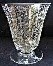Vases, tulipiers et soliflores en verre ou en cristal de grand nom français
