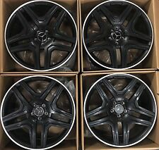 21 AMG MERCEDES BENZ 2018 GL63 or ML G WHEELS RIMS GL GLC GL550 FACTORY GERMANY