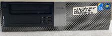 Dell Optiplex 980 DT Desktop Core i7 CPU 860 2.80GHz-4GB DDR3-NoHDD-NoOS-HVKXPN1