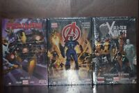 Sealed - Marvel Now! Hardcover Graphic Novels: Avengers, Ironman, All New X-Men