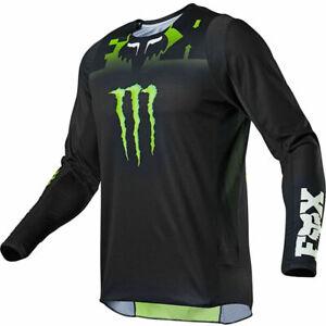 NEW 2021 Fox Racing 360 Monster Jersey Black