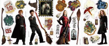 HARRY POTTER wall stickers 30 magical decals SIGNS crest Hogwarts Ron Hermione