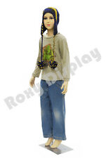Child Plastic Realistic Mannequin Dress Form Display Ps D1d02free Wig