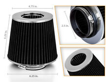 "2.5"" Cold Air Intake Dry Filter BLACK For 100/102/150/250/253/280/300/350/370"