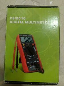 New CSI2010 Digital Multimeter Voltage/Current/Resistance/Capacitance