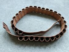 """Leather 12 Bore Cartridge Belt size 36"""" - 44"""" by Macpherson's of Inverness"""
