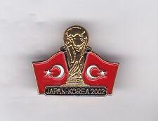 """Turquía """"Japón-Corea WC 2002"""" - MONTAJE Broche Insignia de Solapa"""
