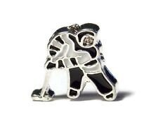 FLOATING LOCKET CHARM HOCKEY PLAYER COMBINE POST- FAST POST- AU MELBOURNE SELLER