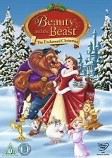 BEAUTY AND THE BEAST THE ENCHANTED CHRISTMAS - NEW / SEALED DVD - UK STOCK