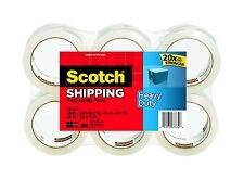 "NEW! 6 ROLLS Scotch 3850-6 Heavy-Duty Shipping Tape 1.88"" x 54.6 Yd 38506"