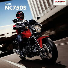 Honda NC 750 S Prospekt 2013 12/13 Motorradprospekt brochure prospectus broschyr