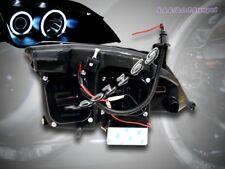 05-07 FORD FOCUS ZX4 PROJECTOR HEADLIGHTS CCFL TWIN HALO BLACK