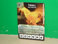 DICE MASTERS Dungeons & Dragons Basic Action Card - Fireball (only card)