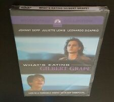 What's Eating Gilbert Grape (DVD, Widescreen Collection) Johnny Depp 1993 NEW