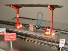 Diesel Fueling Station Self Assembly Card Kit 00 Gauge Lots of Detail