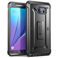 Supcase Belt Clip Holster Case for Samsung Galaxy Note5 Black