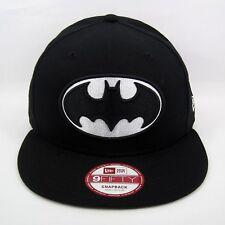 New Era Men's DC Comics Batman Hero Black & White 950 Snapback Cap - Size S/M