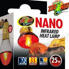 Nano Infrared Heat Lamp 25 watt Terrarium Reptile Tank 25W Zoo Med
