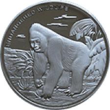 Congo - 10 Franc Gorilla