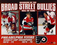 Philadelphia Flyers Broad Street Bullies Parent Clarke Barber 8x10 Glossy Photo