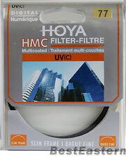 Genuine  Hoya 77mm HMC UV (C) Multi-Coated Slim Filter