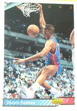 CARTE  NBA BASKET BALL 1993  PLAYER CARDS DENNIS RODMAN (153)