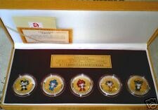 Beijing 2008 Olympic Games commemorative medallions Set