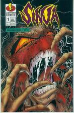 Sinja: Resurrection # 1b (one-shot FLIP BOOK, variant cover) (USA, 1996)