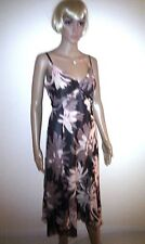 COAST Long Silk Ladies Evening Dress. Formal or Casual. Cocktail Party.  SIZE 12