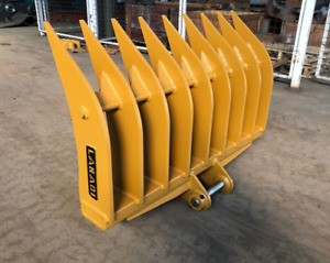 Labadi 5 Ton Excavator Stick Rake, Rake Attachment, Excavator Attachments 1200mm