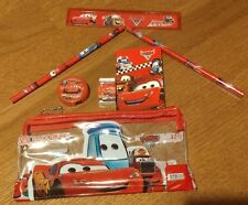 Disney Cars Pencil Case With Accessories Stationery Set Kids US Seller New