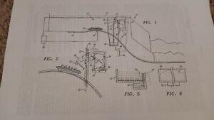 JURASSIC PARK THE RIDE U.S. Patent Documents & Drawings UNIVERSAL STUDIOS