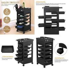 "Topeakmart 32"" Beauty Salon Spa Styling Station Trolley Equipment Rolling Storag"