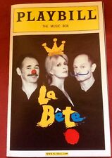 Playbill La Bete September 2010 Hyde Pierce Lumley Rylance The Music Box Theatre