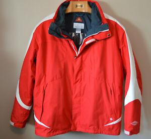 Men's Columbia Interchange Thermal Comfort Omni Heat Jacket Size XXL 3 in 1