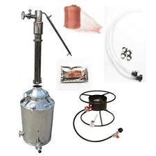 "13 Gallon Stainless Steel Still Kit (Dual Purpose, 3"")"