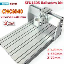 6040 Cnc Router Diy Engraving Machine Frame Kit Sfu1605 Ballscrew With 80mm Clamp