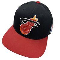 Miami Heat Mitchell & Ness Ball Cap Hat Snapback Baseball Basketball