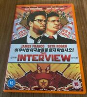 The Interview DVD (2014) James Franco Cert 15 Region 2 UK, Seth Rogan (DIR)
