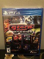 NEW SEALED Stern Pinball Arcade PS4 (Sony PlayStation 4, 2016)