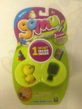 NEW 3 Spin Master Gomu Erasers Secret Eraser Brush Duck Series 1 Eraserland