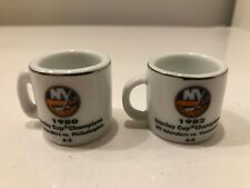 NHL Cup Crazy Mini Mugs New York Islanders Stanley Cup Champions '80 & '82