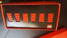 Lego 6 red bricks commemorative limited edition box collectible souvenir Denmark