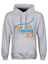 Hoodie Flint Tropics Men's Grey