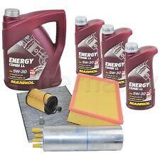 Inspektionspaket Filterset Service Kit VW T5 1,9 + 2,5 TDI + 8L Mannol 5W30 Öl