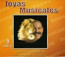 Oscar D Leon Joyas Musicales 3CD New Nuevo Sealed Oscar de Leon