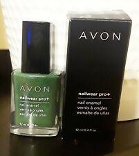 "Avon Nailwear Pro+ Nail Polish Nail Enamel ""Garden Green"" 12ml 0.4 oz"