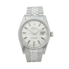 ROLEX DATEJUST 36 STAINLESS STEEL WATCH 16030 W4977