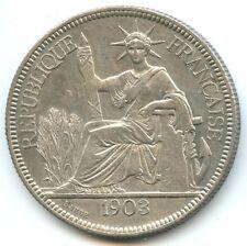 Indochine Piastre de commerce 1903 A Paris KM 5a.1